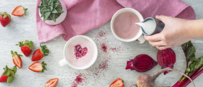 Ruby Red Beet Latte