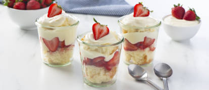 Strawberry Shorcake in a Jar
